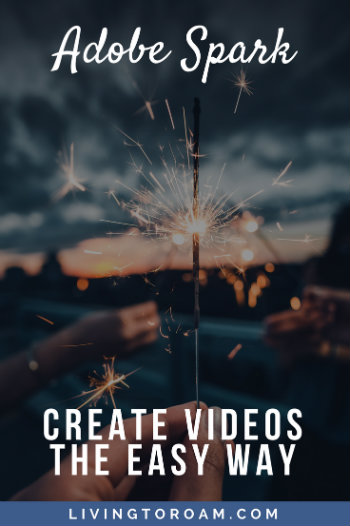 So you don't have any video creation experience, but you want to learn how to make simple (but still totally awesome) videos for your social media, your business or your website? In this tutorial, I'll show you how - without even having to learn expensive and time-consuming editing software! Introducing Adobe Spark. Find out more at livingtoroam.com | Living to Roam