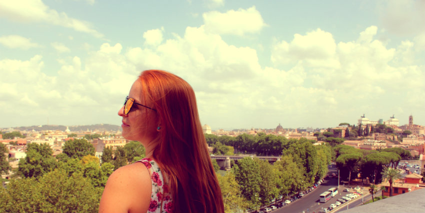 Hidden gems Rome - Aventine Hill Viewpoint