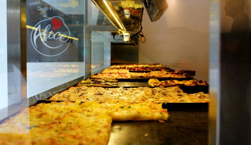Hidden gems Rome - Alice Pizza