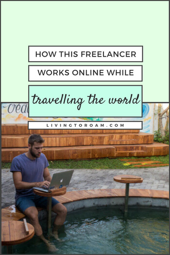 Check out our interview with Chris Dodd, a location independent freelancer who has created a lifestyle of travelling the world while working fulltime. Read more on livingtoroam.com | #freelancer #locationindependent #digitalnomad