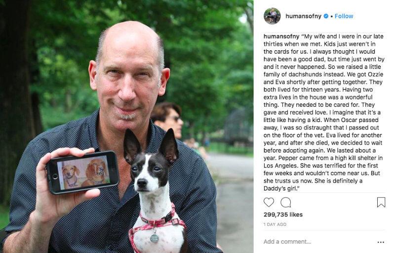 instagram engagement humans of new york post