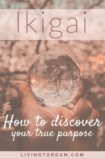 The Japanese concept of Ikigai is fast becoming the new 'hygge'. So what does Ikigai actually mean and how can you apply it to your life? Ikigai roughly translates to 'reason for being', and the concept is concerned with finding the sweet spot between your passion, what you can get paid for, what the world needs and what you are also good at. Find out more at livingtoroam.com #ikigai #purpose