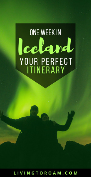 The only Iceland travel guide you'll ever need! Want to visit all the amazing waterfalls, see the Northern Lights and experience what it's like to climb into an ice cave? Featuring the perfect one week itinerary, where to stay and how to see Iceland on a budget. Including Reykjavik and beyond | visit Living to Roam for more travel tips | livingtoroam.com