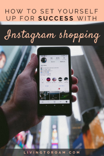 You may have noticed the little shopping bag icons appearing all over your favourite brands' Instagram posts. Well, now it's time to get in on the action yourself! Instagram shopping is nothing new, but this latest update is setting the online shopping world on fire... Find out how to set yourself up for success. | Read more on livingtoroam.com #instagramshopping #onlineshopping #instagram #socialmedia