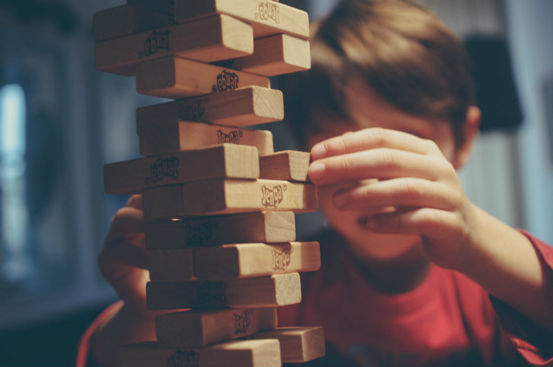 train your brain jenga