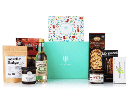 travel gift idea try the world gift box